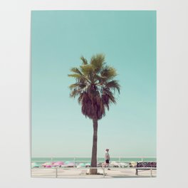 Just Another Summer Postcard Poster