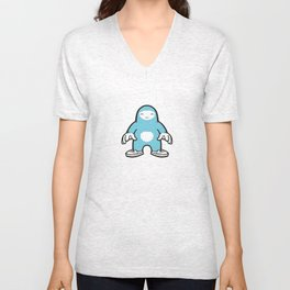 blue gigant Unisex V-Neck