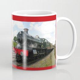 Vintage steam engine railway train Coffee Mug
