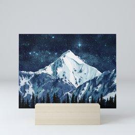 Alaska Night Sky 1 Mini Art Print