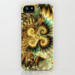 Gold Explosion iPhone Case