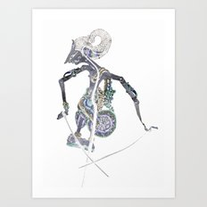 SHADOW PUPPET Art Print