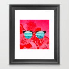iSea Pink Framed Art Print