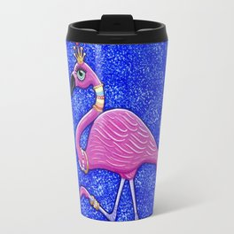 Fancy Francie Flamingo Travel Mug