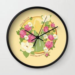 Olive Wall Clock