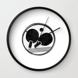 Ping-Pong  -- Table tennis Wall Clock