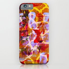 Animalia Mammalia Giraffidae iPhone Case