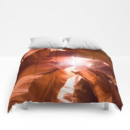 The Canyon (Color) Comforters