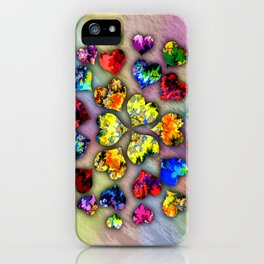 heart beat II iPhone Case