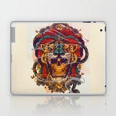 SKULL IN TIGER Laptop & iPad Skin