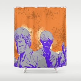 The company of monsters Shower Curtain