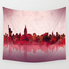 new york new york Wall Tapestry