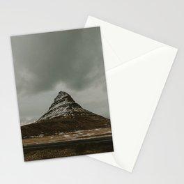 Iceland Kirkjufell Mountain Stationery Cards