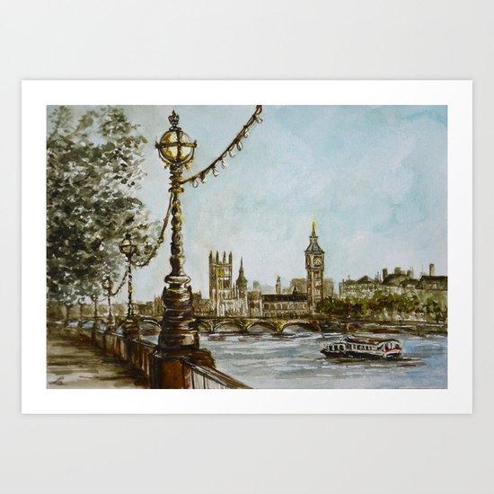 London view Art Print