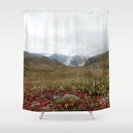 Mountain Crisp Shower Curtain