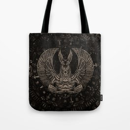 Anubis - Egyptian God Sepia Tote Bag