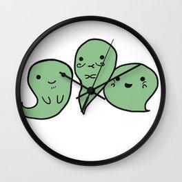 G G G GHOSTS! Wall Clock