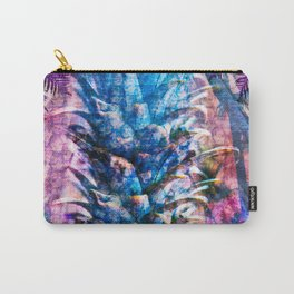 Stand Tall, Blue Pineapple Carry-All Pouch