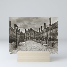 Vicars Close In The City Of Wells Mini Art Print