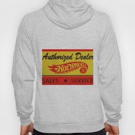 Vintage 1968 Authorized Dealer Hot Wheels Redline Sign Hoody