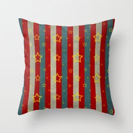 Stripes Collection: The Carnival Throw Pillow