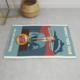 Protect Your Team Rug
