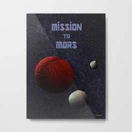 Mission to Mars Metal Print