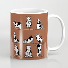 Moo Yoga Coffee Mug