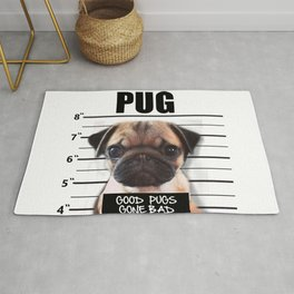 good pugs gone bad Rug