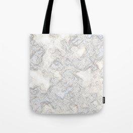 Paper Marble Tote Bag