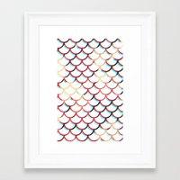 koi fish Framed Art Prints featuring Koi Fish by JoanaRosaC