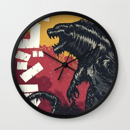 King of the Monsters Wall Clock