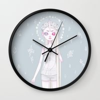 celestial Wall Clocks featuring *:・゚✧ Celestial ✧・゚:* by ♡ SUSHICORE ♡