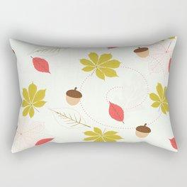 Autumn Pattern Rectangular Pillow