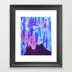 Man of War Framed Art Print