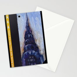 Subway Card Chrysler Building No. 9 Stationery Cards