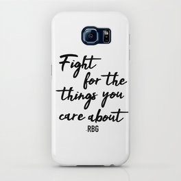 Fight for the things you care about iPhone Case