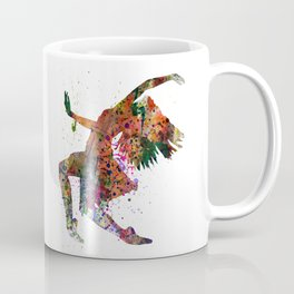 dancing to the night  Coffee Mug