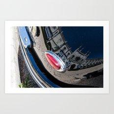 reflet, architecture Art Print