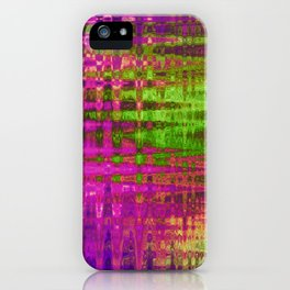 On the Purple Wire iPhone Case