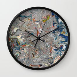 Abstract Oil Painting 27 Wall Clock