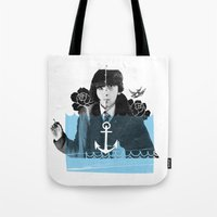 submarine Tote Bags featuring Submarine by canthaid