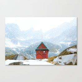 Alaskan Hut Canvas Print