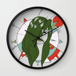foresty Wall Clock