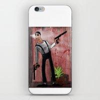 leon iPhone & iPod Skins featuring Leon by Eliseu Miranda