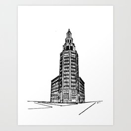 the Electric Tower Art Print