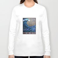 the cure Long Sleeve T-shirts featuring The Cure by Jeanne Hollington