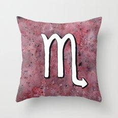 Zodiac sign : Scorpio Throw Pillow