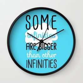 Some Infinities - The Fault In Our Stars Wall Clock