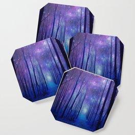 Fantasy Path Purple Blue Coaster